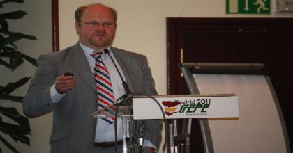 Oliver Grey presenting at the FEPE Madrid Congress, 2011
