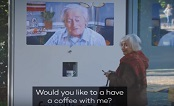 Norway 2018: Frivillig.no Bus Shelter Coffee Invite-JCDecaux