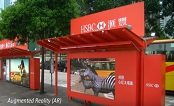 Hong Kong: Innovate for HSBC (AR Campaign) - JCDecaux Cityscape