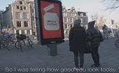 Netherlands 2017: Nutella Interactive Panel Compliments-JCDecaux