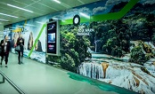 UK: Mexico Tourism Board's exotic paradise at St Pancras