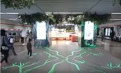 China: Perrier transforms Shanghai Metro into a jungle