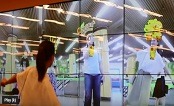 China: Drinks brand Vita created an AR-powered TV wall in Shanghai station