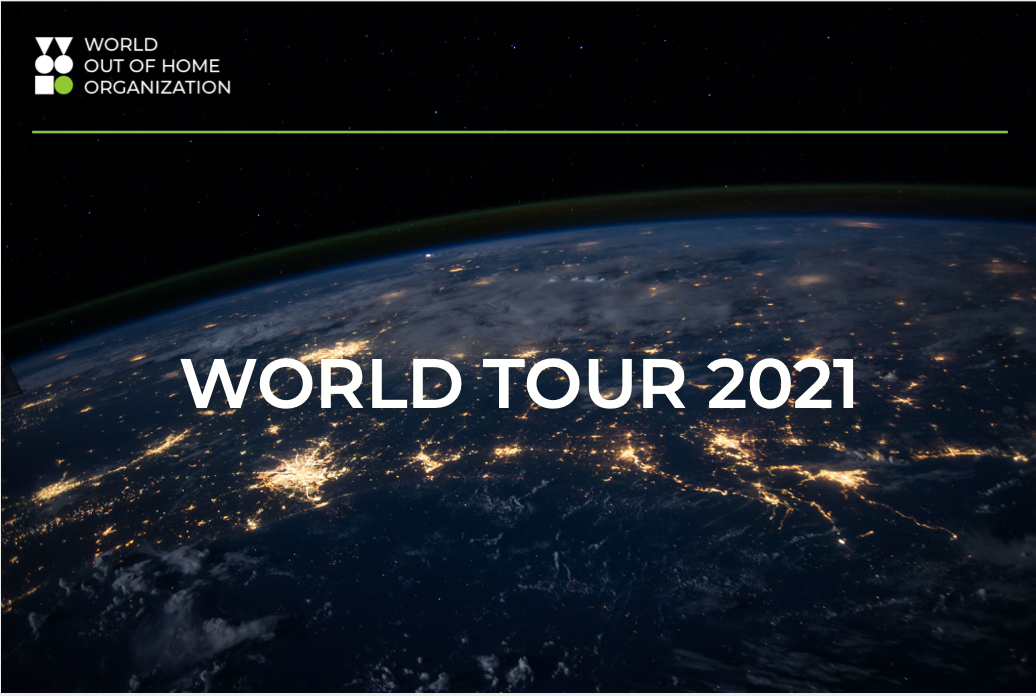 World Out of Home Organization firms-up on 2021 World Tour plans