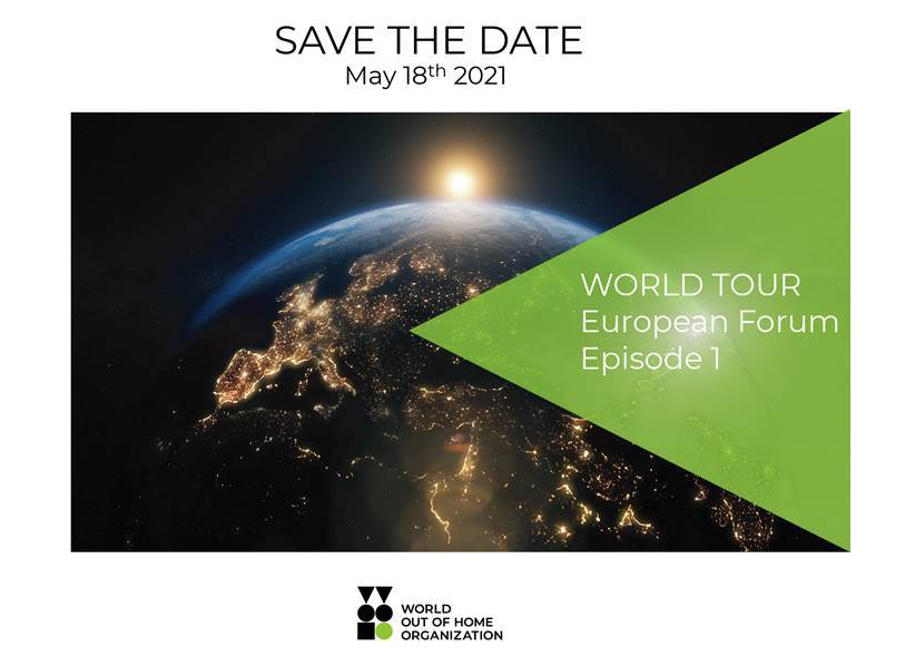 World Out of Home Organization's May 18 European Forum is now open for Registration