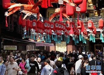 China - Travel Rebounds Over China's Golden Week