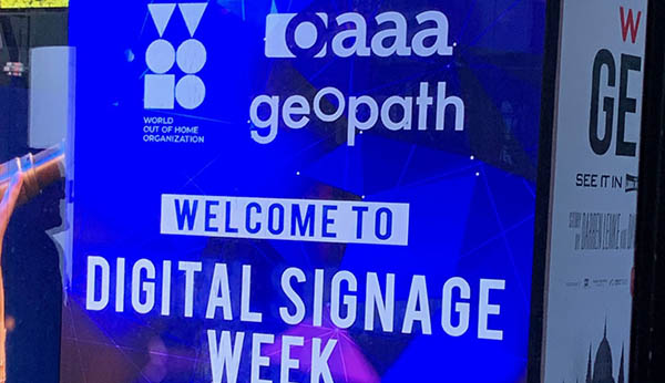 World Out of Home Organization (WOO) partners with OAAA and Geopath at NYC Digital Signage Week